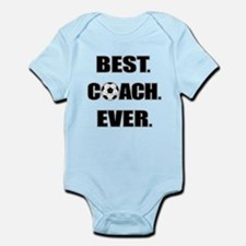 Best. Coach. Ever. Black Infant Bodysuit