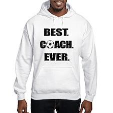 Best. Coach. Ever. Black Hoodie