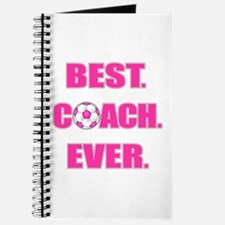 Best. Coach. Ever. Pink Journal