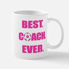 Best. Coach. Ever. Pink Mug