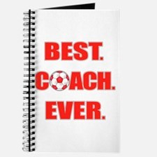 Best. Coach. Ever. Red Journal
