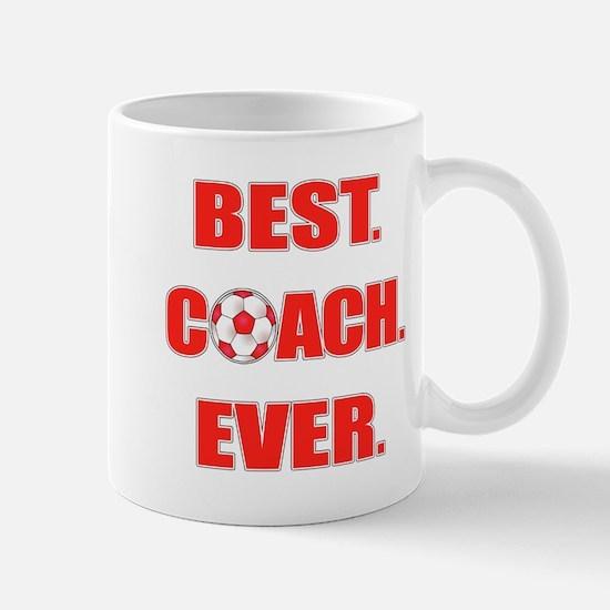 Best. Coach. Ever. Red Mug