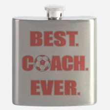 Best. Coach. Ever. Red Flask