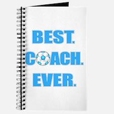 Best. Coach. Ever. Blue Journal