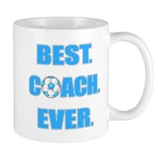 Best. Coach. Ever. Blue Mug