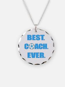 Best. Coach. Ever. Blue Necklace