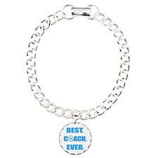 Best. Coach. Ever. Blue Bracelet