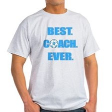 Best. Coach. Ever. Blue T-Shirt