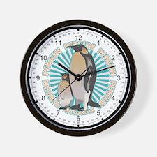 Penguin Animal Classic Wall Clock