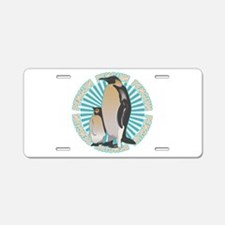 Penguin Animal Classic Aluminum License Plate