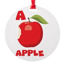 A Aplle Ornament