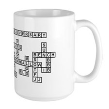 Cassie Scrabble-Style Mugs