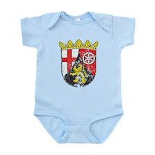 Coat of arms of Rhineland Palatina Infant Bodysuit