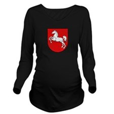 Coat of arms of Lowe Long Sleeve Maternity T-Shirt