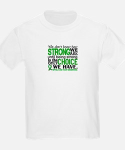 Spinal Cord Injury HowStrongWeA T-Shirt