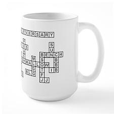 Cassie Scrabble-Style Mugs