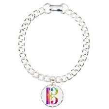 Colorful Alto Clef Bracelet
