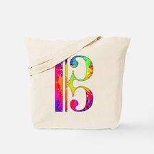 Colorful Alto Clef Tote Bag