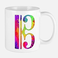 Colorful Alto Clef Mug