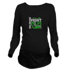 Spinal Cord Injury F Long Sleeve Maternity T-Shirt