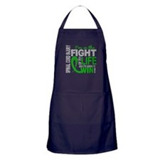 Spinal Cord Injury FightOfMyLife1 Apron (dark)