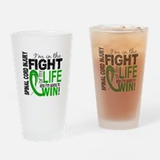 Spinal Cord Injury FightOfMyLife1 Drinking Glass