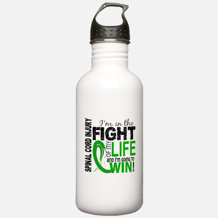 Spinal Cord Injury Fig Water Bottle