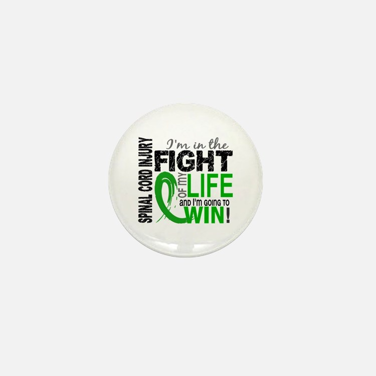 Spinal Cord Injury FightOfMyLife1 Mini Button