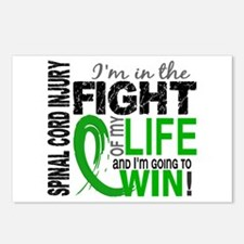 Spinal Cord Injury FightO Postcards (Package of 8)