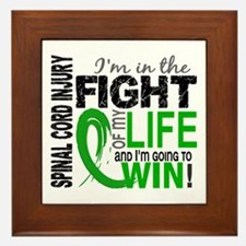 Spinal Cord Injury FightOfMyLife1 Framed Tile