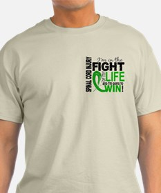 Spinal Cord Injury FightOfMyLife1 T-Shirt