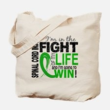 Spinal Cord Injury FightOfMyLife1 Tote Bag
