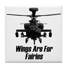 Wing are for Fairies Tile Coaster