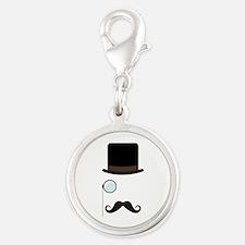 Classy Gentleman Mustache Charms