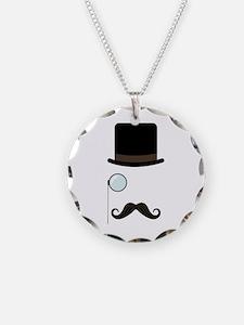 Classy Gentleman Mustache Necklace