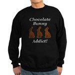 Chocolate Bunny Addict Sweatshirt (dark)
