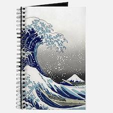 great wave of Kanagawa by hokusai Journal