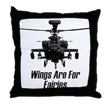 Cute Fairie wings Throw Pillow