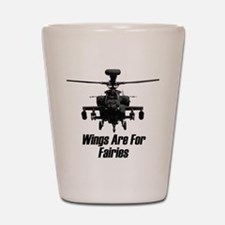 Unique Helicopter Shot Glass