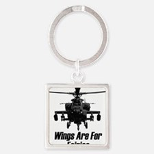 Cute Wings Square Keychain