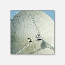 "satellite dish Square Sticker 3"" x 3"""