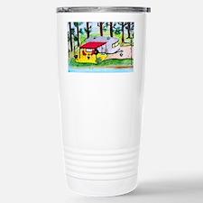 Air stream Camper on th Stainless Steel Travel Mug