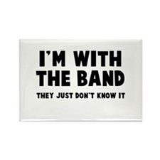 I'm with the band Rectangle Magnet