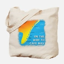 On The Way To Cape May Tote Bag