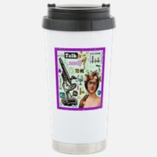 Talk Nerdy To Me Stainless Steel Travel Mug