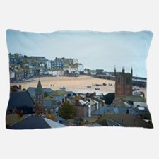 saint ives rooftops Pillow Case