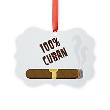 100 Percent Cuban Ornament
