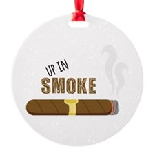 Up in Smoke Ornament