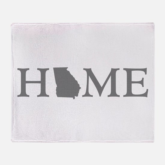 Georgia Home Throw Blanket