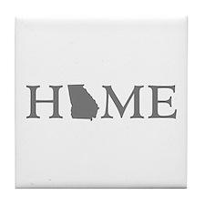 Georgia Home Tile Coaster